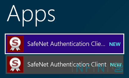 find safenet app from windows