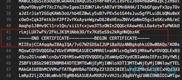 screen ssl bad line error